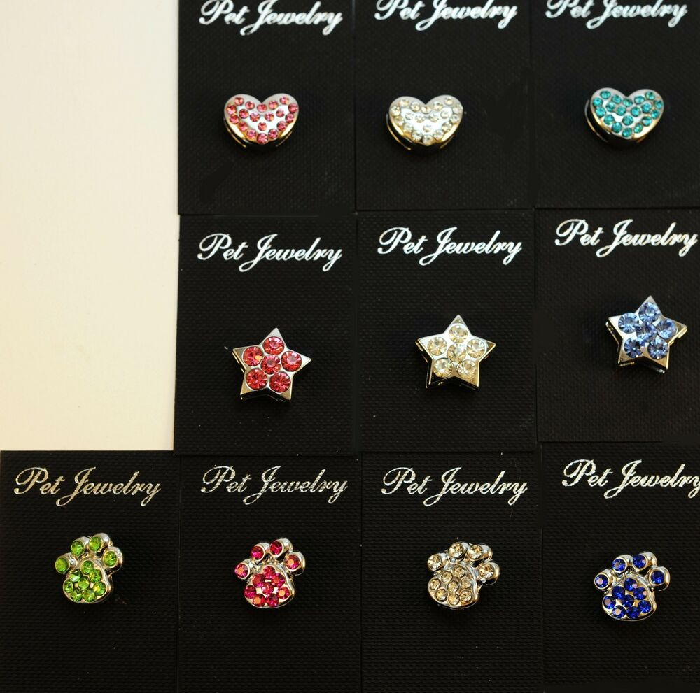 Dog Collar Bling Charms