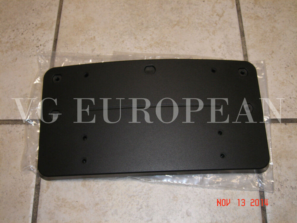 Mercedes benz w212 e class genuine front license plate for Mercedes benz number plate holder