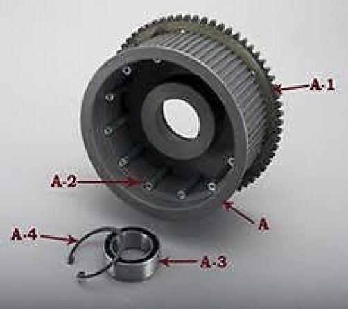 Harley Davidson Drive Belt Replacement >> 66 Tooth Ring Gear for BDL Belt Drives - Factory ...
