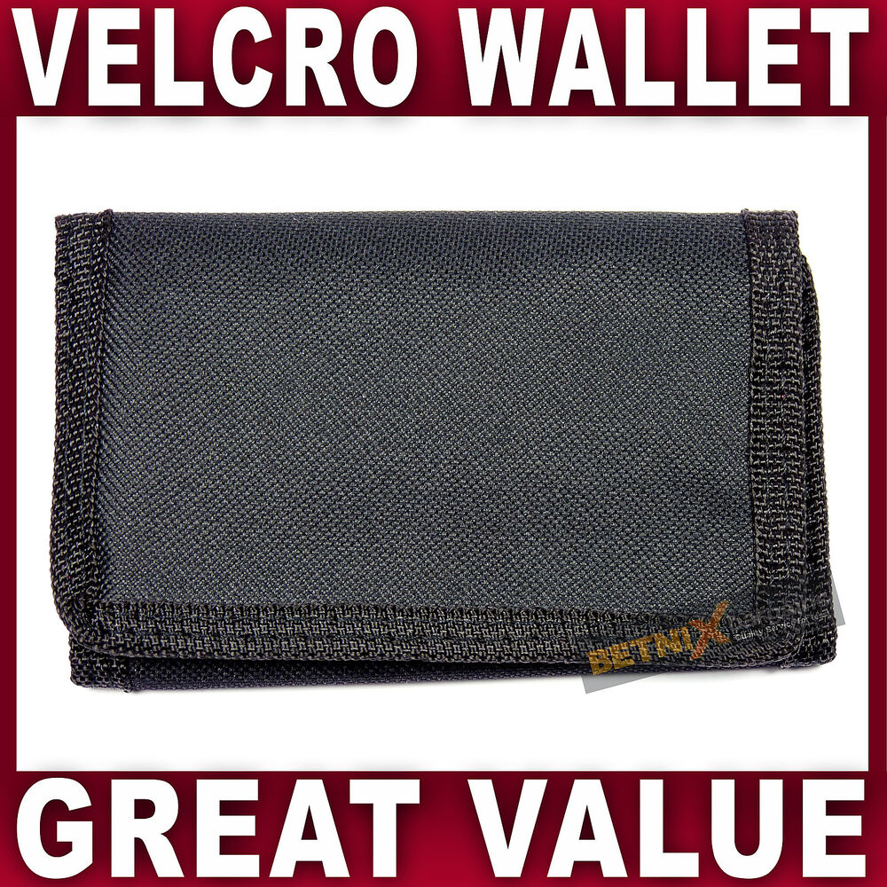 Mens Boys TRIFOLD WALLET CREDIT CARD HOLDER ZIP PHOTO COMPARTMENT ...