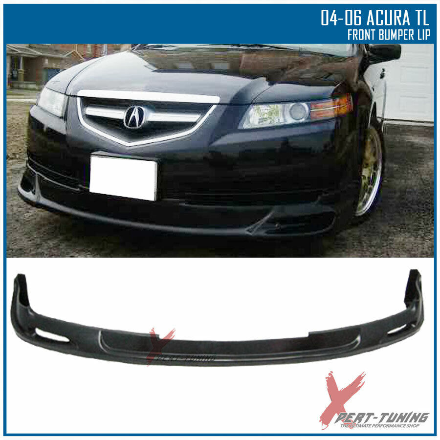 Urethane Fit 04-06 Acura TL Mugen Style Front Bumper Lip