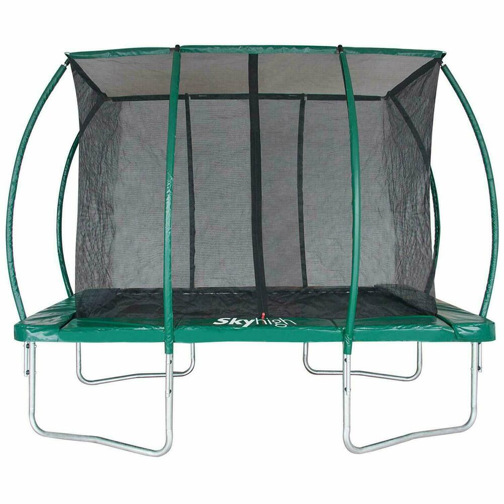 Skyhigh Rectangular Trampolines And Safety Enclosure ( 3