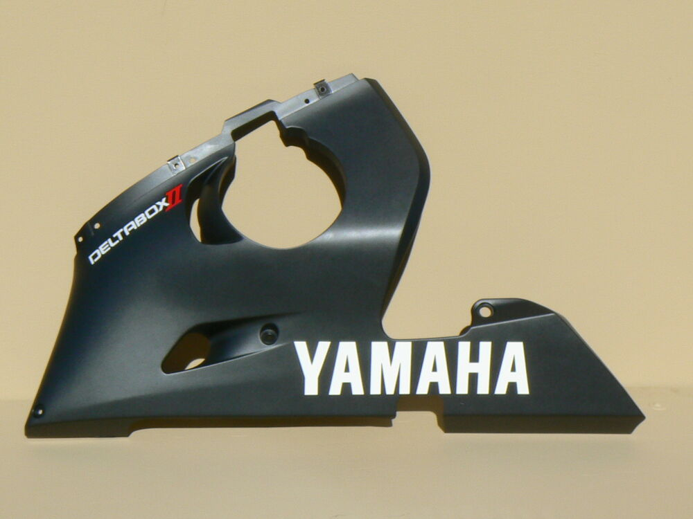 Brand new oem yamaha left side lower fairing 99 02 yzf for I s bains cowling