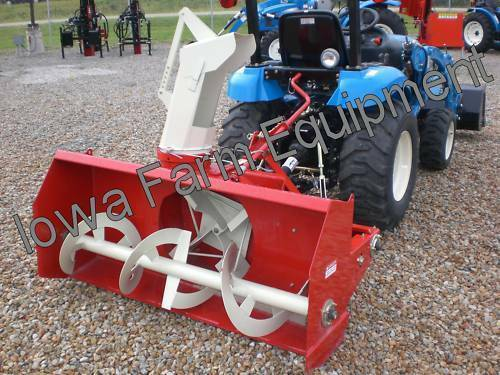 Snow Blower Brands : Red farm king y quot tractor pto snow blower bladefan