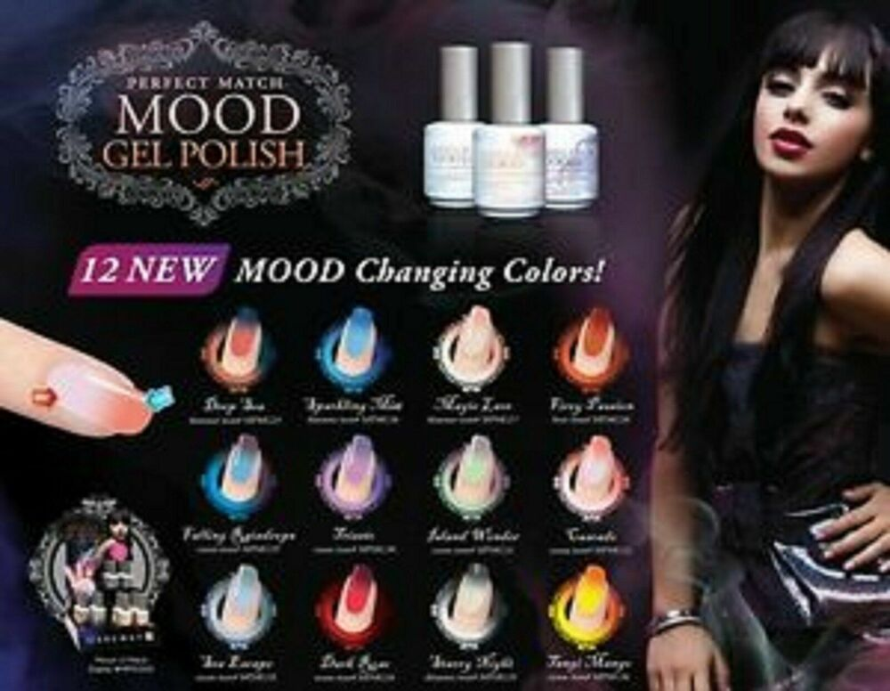 Lechat Perfect Match Uv Led Curable Mood Change Collection