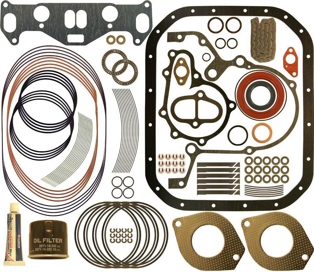 Rx7 Engine Upgrades: AtkinsRotary Early 3MM 13B 13-B Master Engine Rebuild Kit