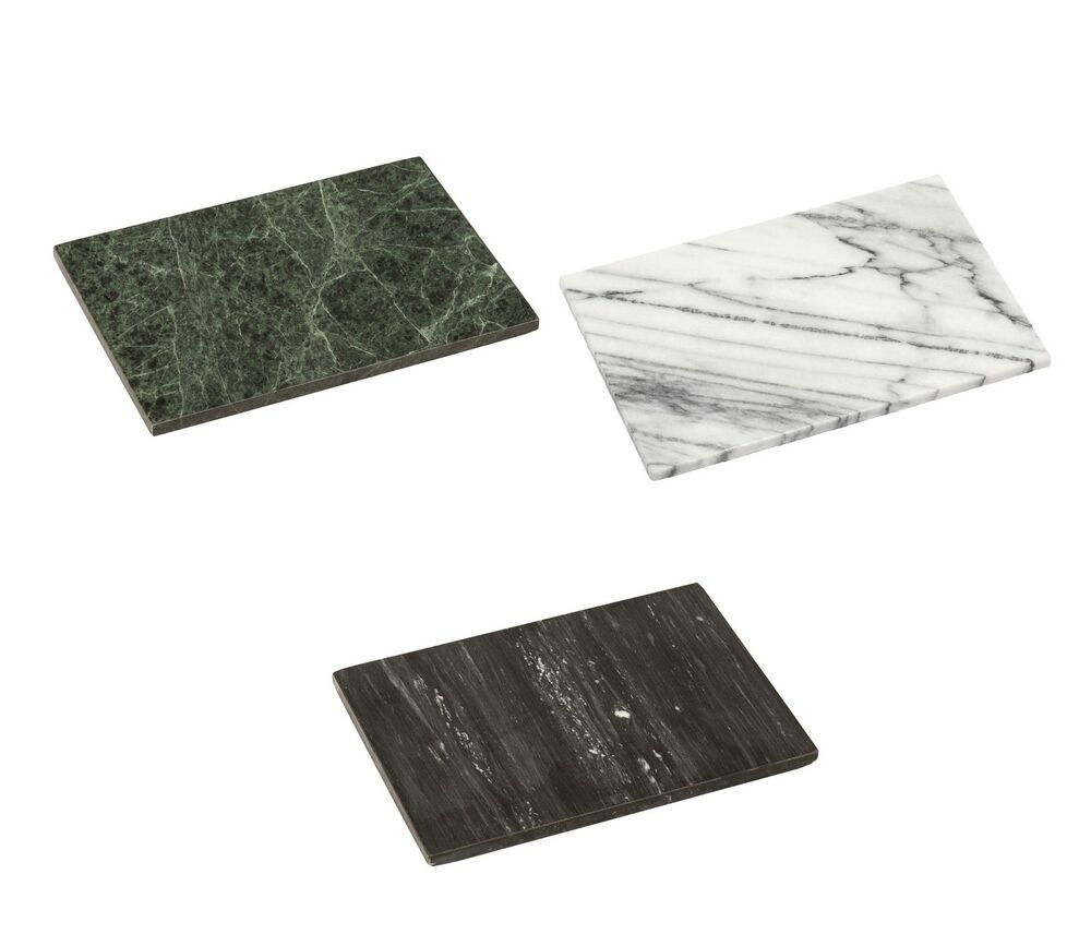 Small Heavy Marble Kitchen Chopping Cutting Board Slate