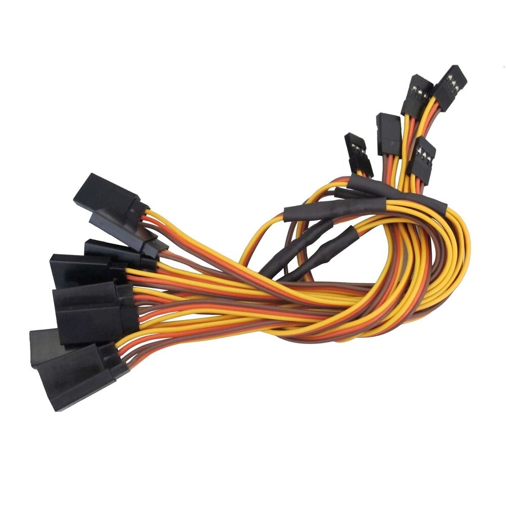 Servo Extension Leads : New mm quot y style servo extension cord lead wire