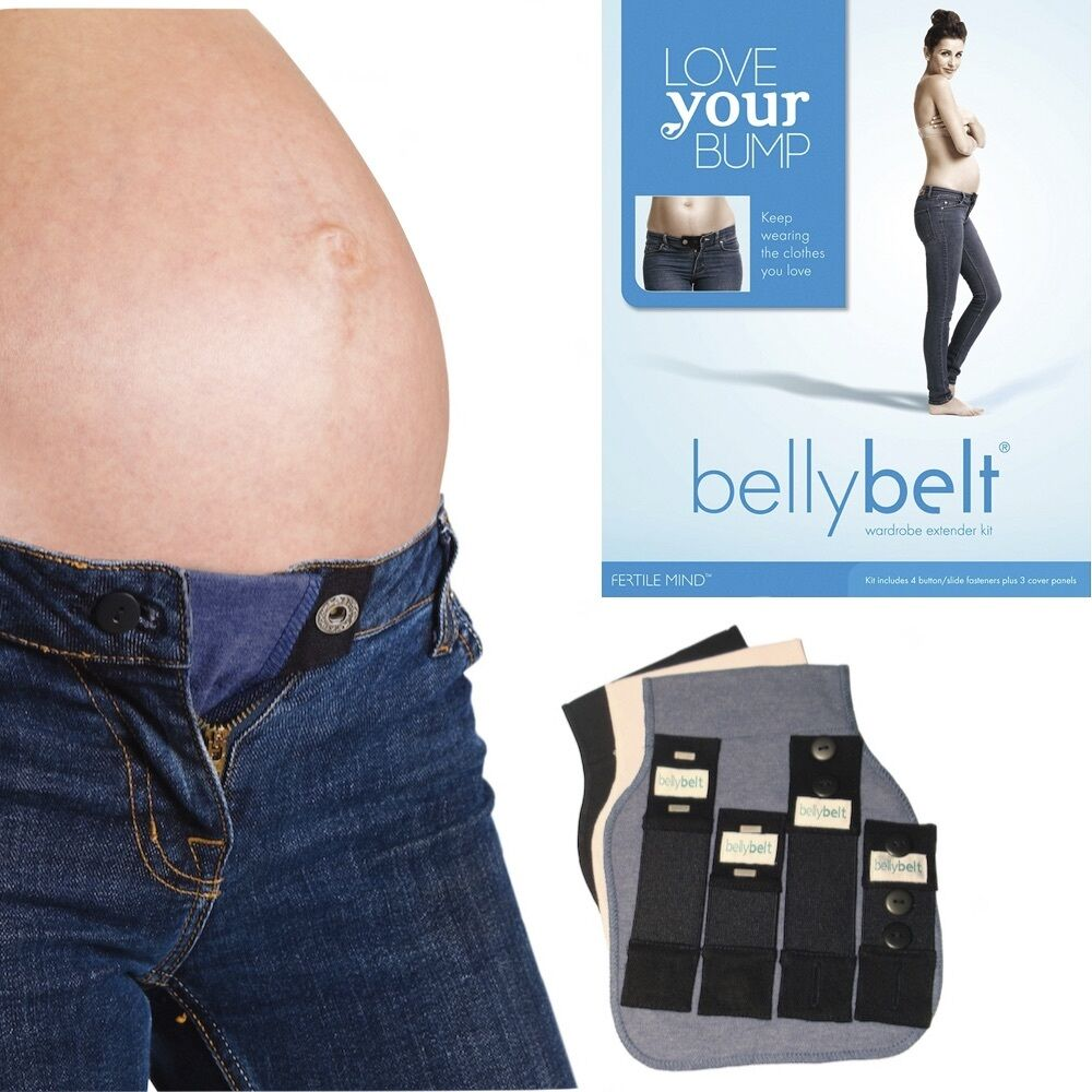Love Your Baby Bump Belly Belt Pregnancy Maternity ...