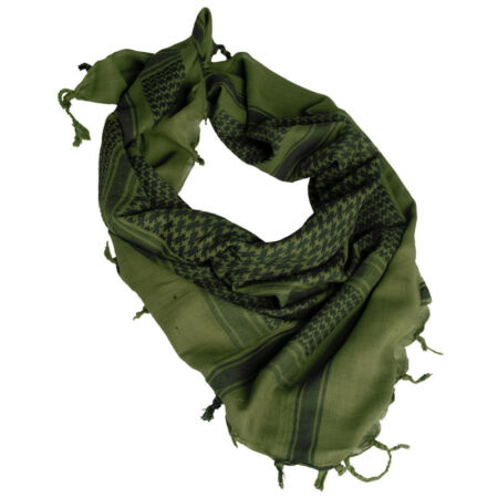 img-MILITARY SHEMAGH TACTICAL ARMY SCARF PATROL SHERMAG COMBAT KEFFIYEH OLIVE BLACK