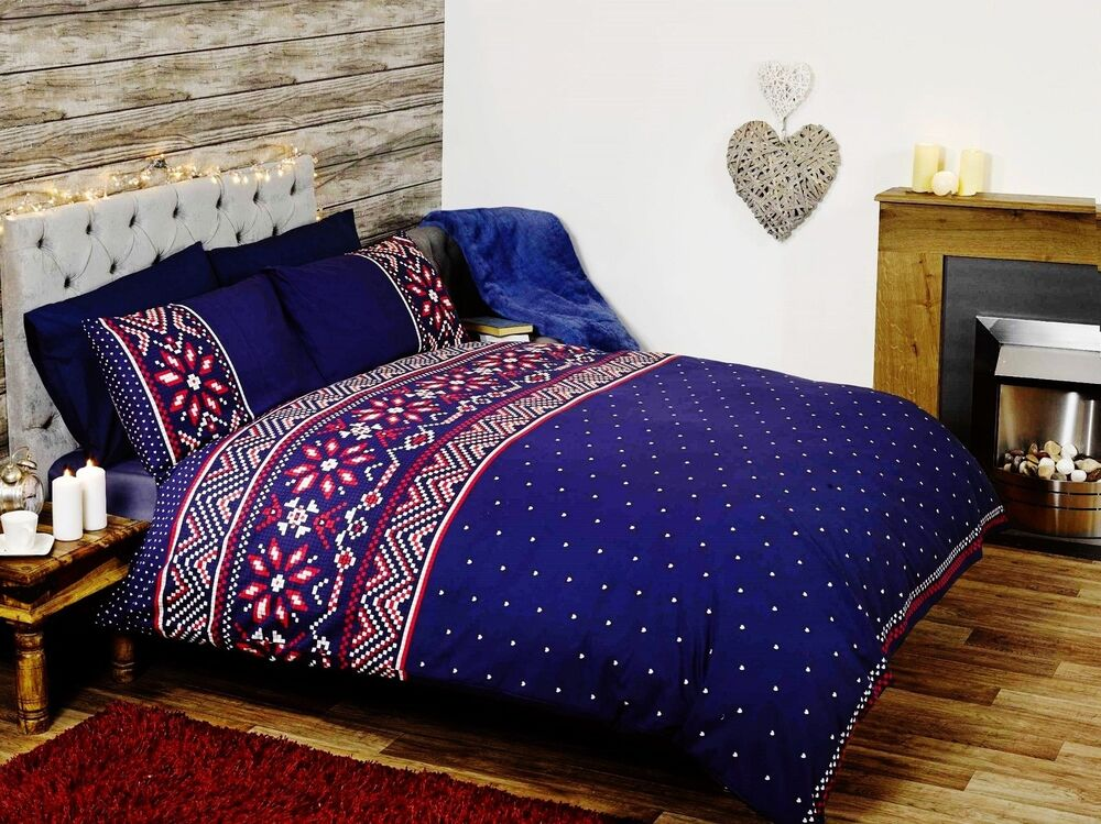 Fair Isle Bedding Set