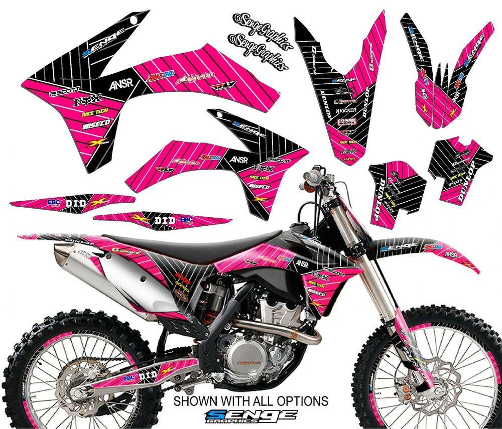 1998 1999 2000 2001 sx 50 graphics kit ktm sx50 50sx deco for Sticker deco