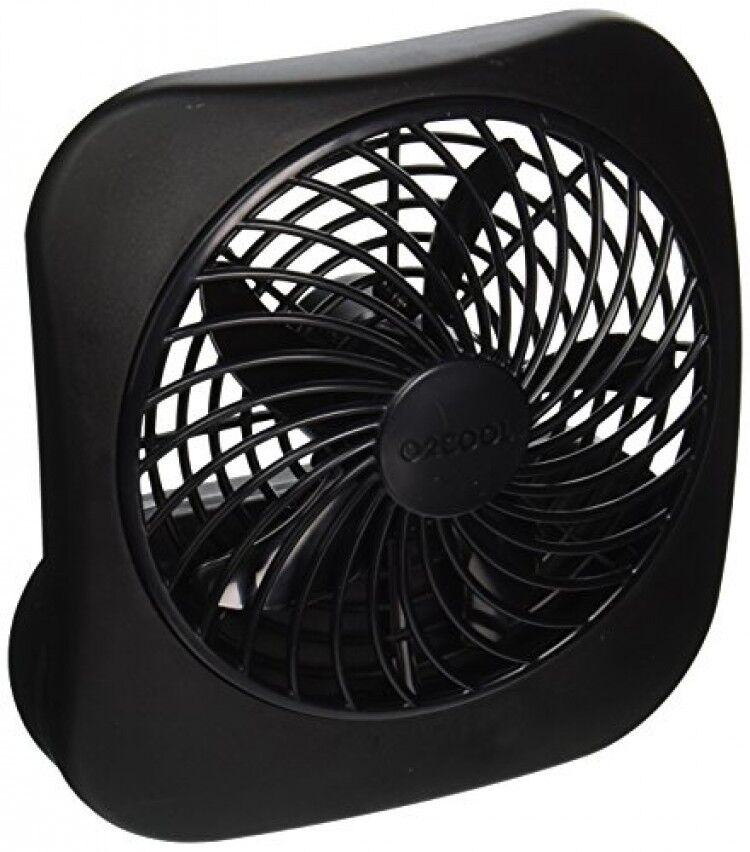 O2 Cool Fan : Portable battery operated fan compact and