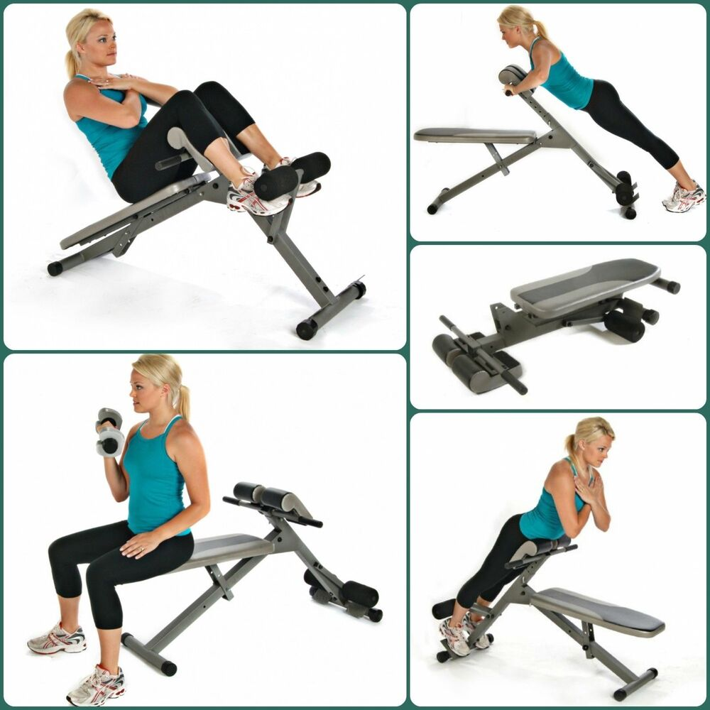 Stamina Ab Hyper Bench Pro Adjustable Hyper Extension
