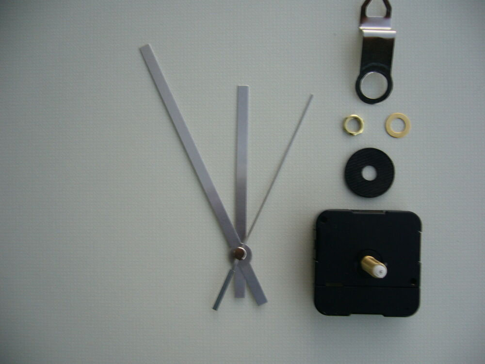 Clock Mechanism Quartz Extra Long Sweep Spindle 130mm