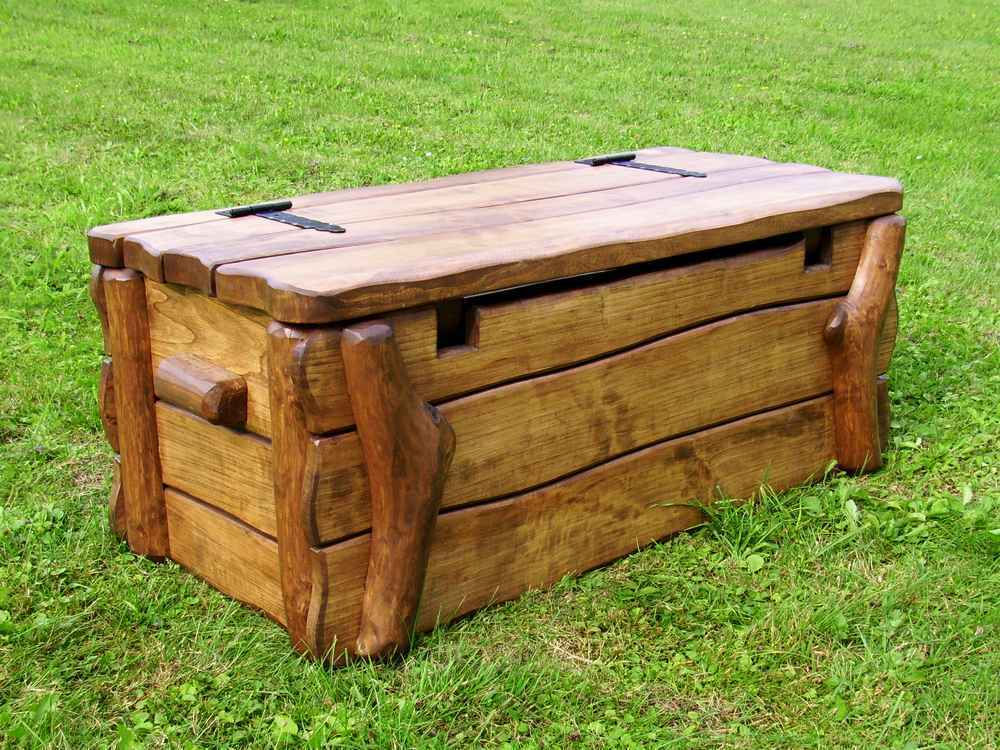 holztruhe rural rustikal gartentruhe gartenbox auflagenbox kissenbox truhe holz ebay. Black Bedroom Furniture Sets. Home Design Ideas
