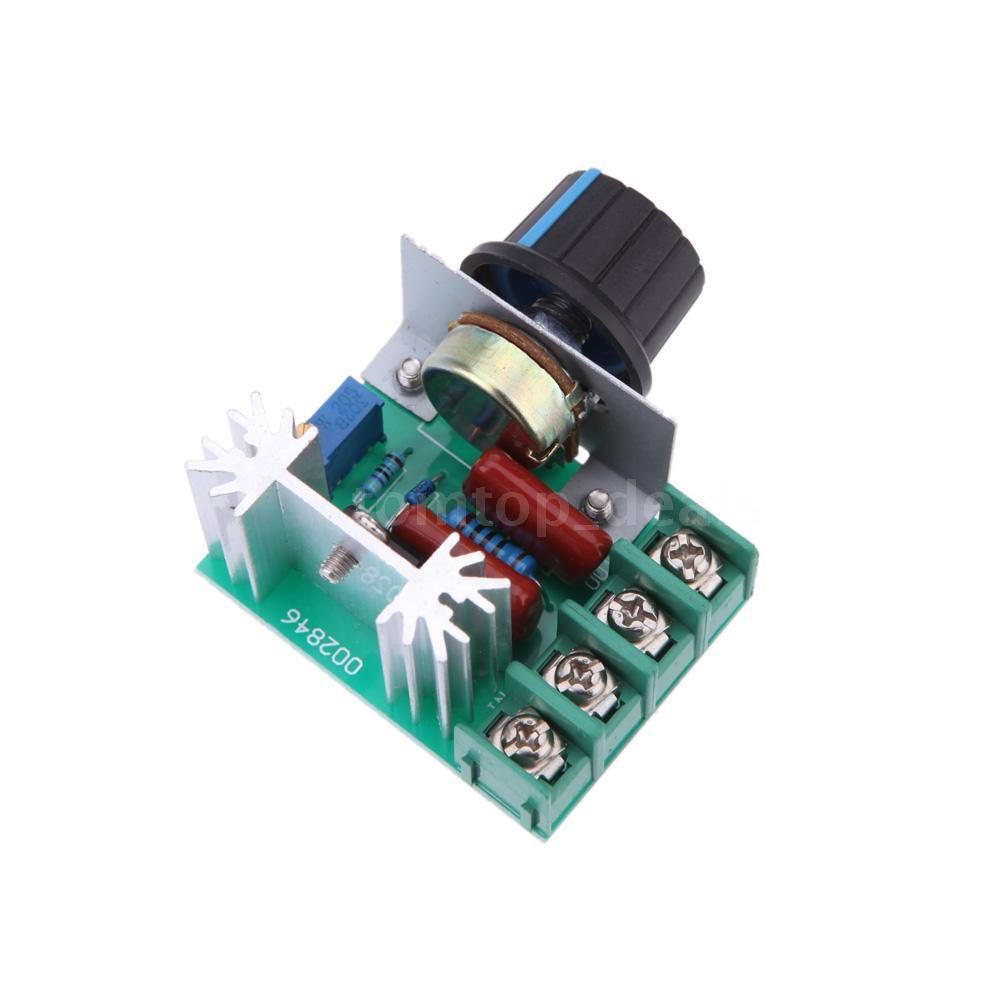 2000w 50 220v Ac Scr High Power Voltage Regulator Motor