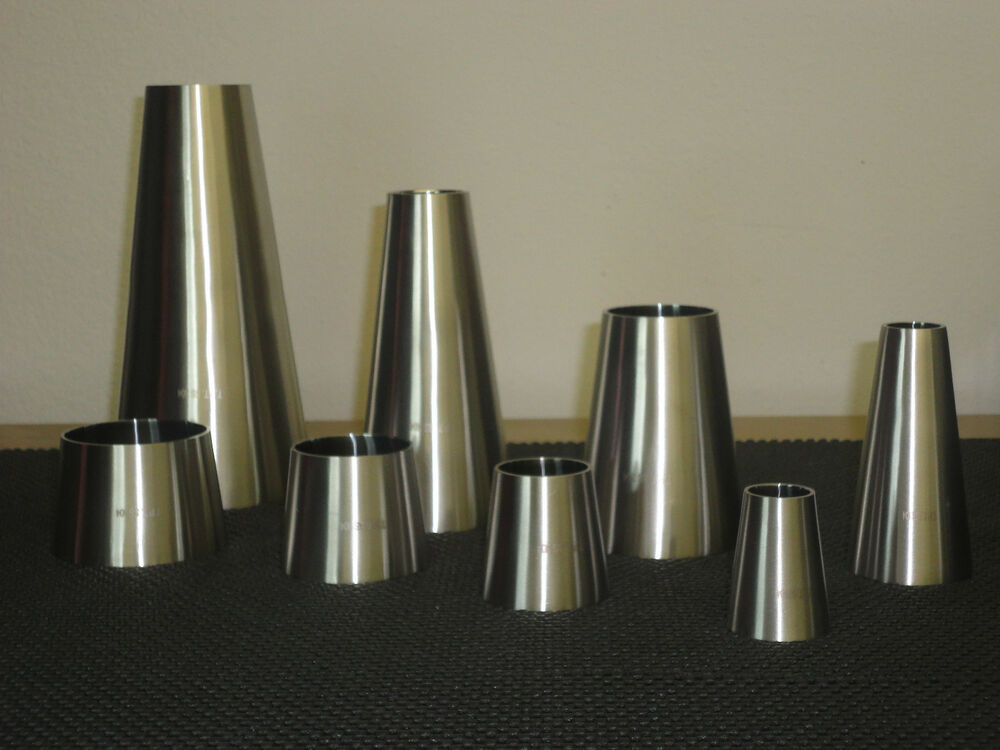 One sanitary stainless steel weld concentric reducer quot