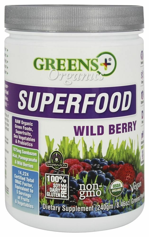 Organic superfood powders