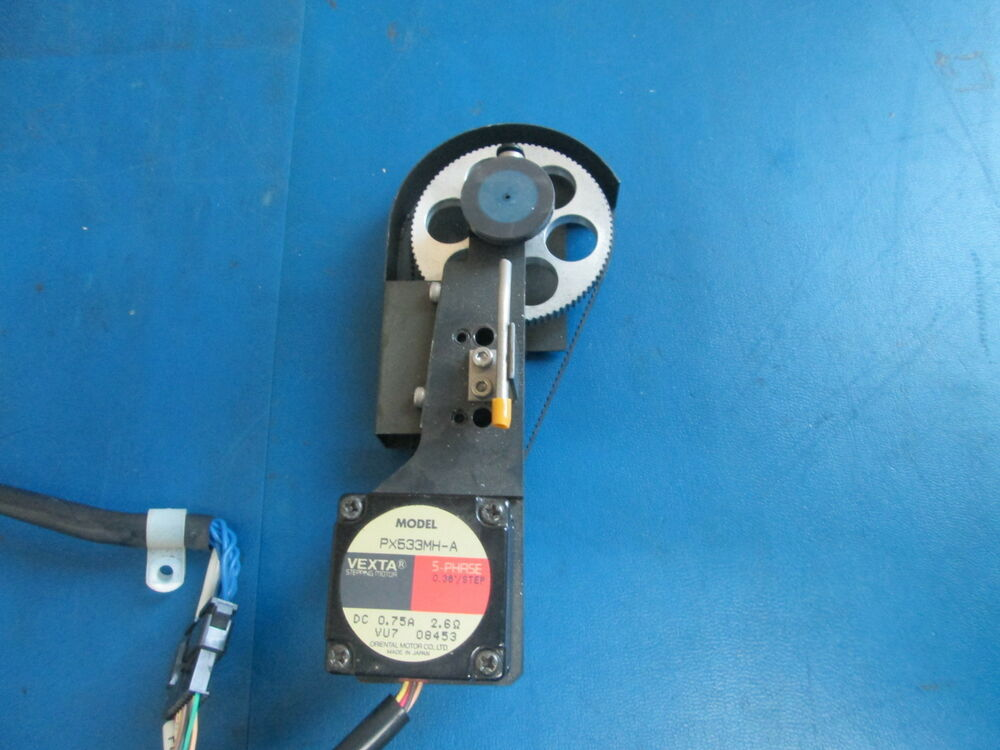 Vexta 5 Phase Stepper Motor Px533mh A With Belt