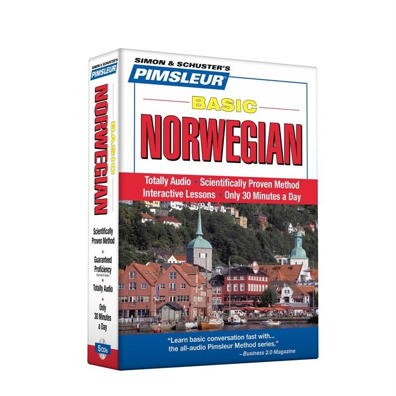 Pimsleur Compact Norwegian on CDs (Lessons 1-10)