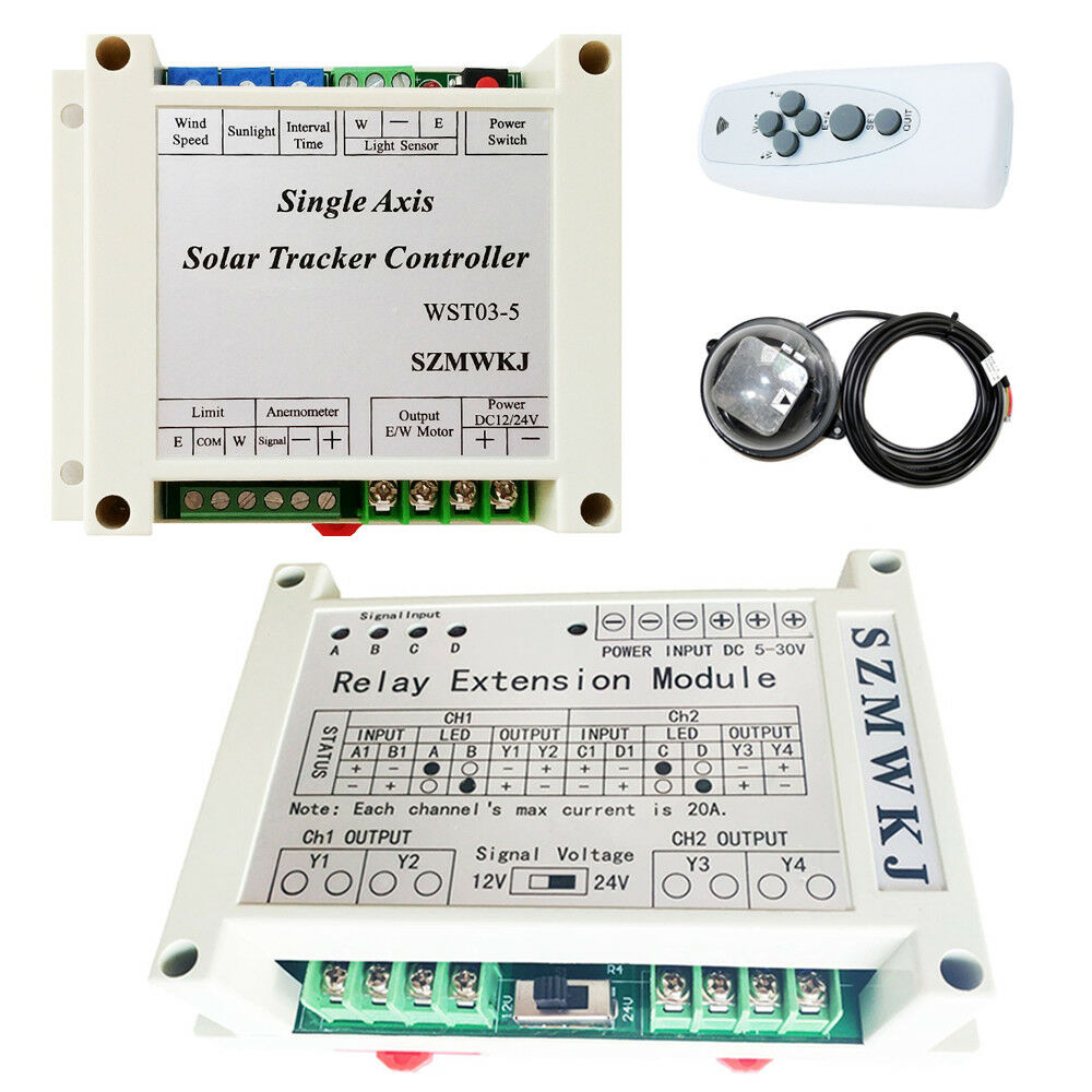 Electronic Controller For 1KW Single Axis Solar Panel