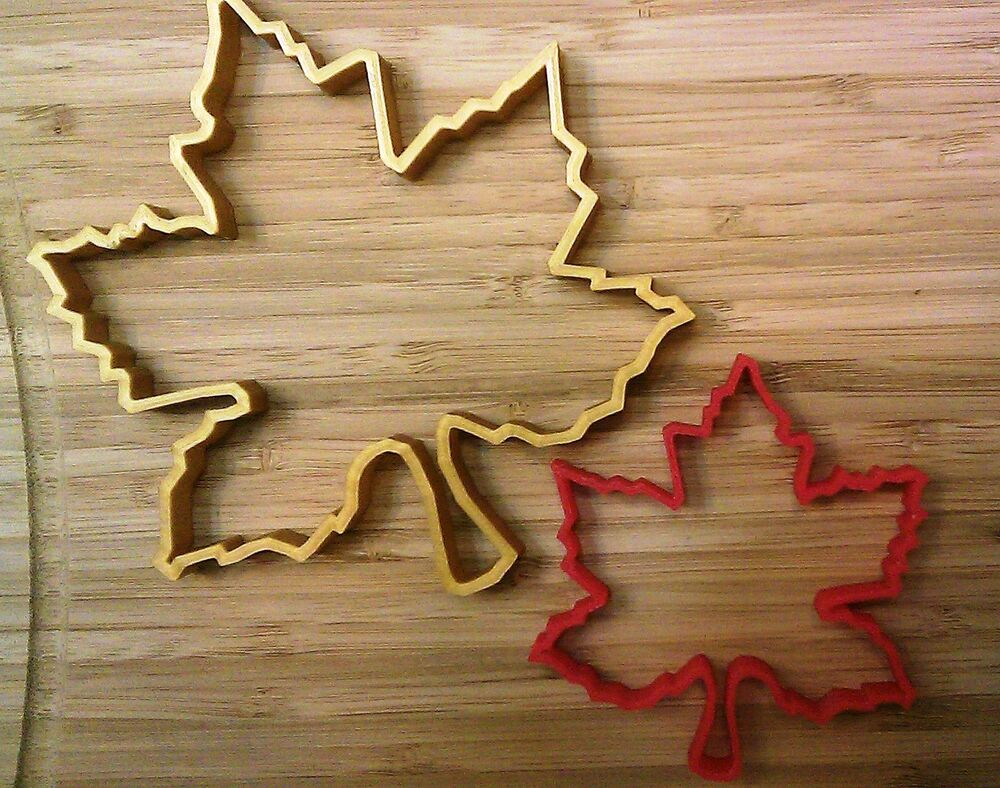 Maple Leaf Cookie Cutter - Choice of Sizes (3D Printed Plastic) | eBay