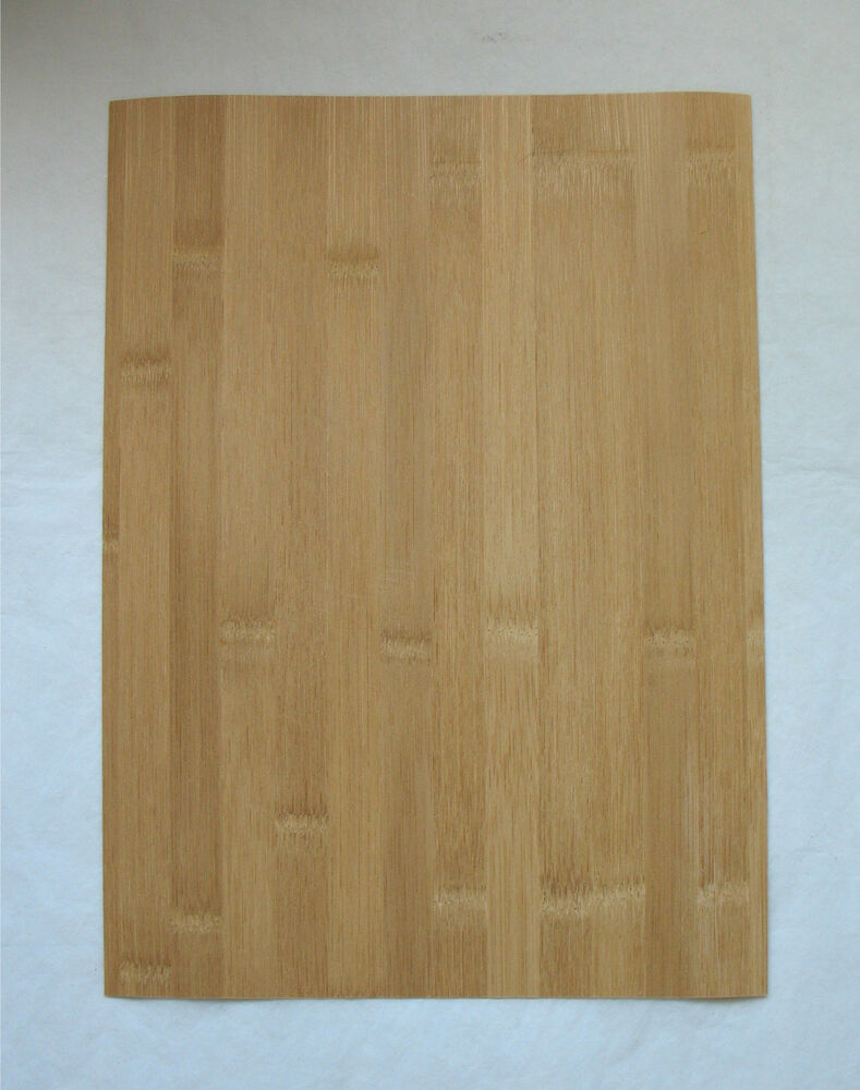 Bamboo veneer 1 40 thick x 10 3 4 wide 14 3 4 long thin for Wood veneer craft projects