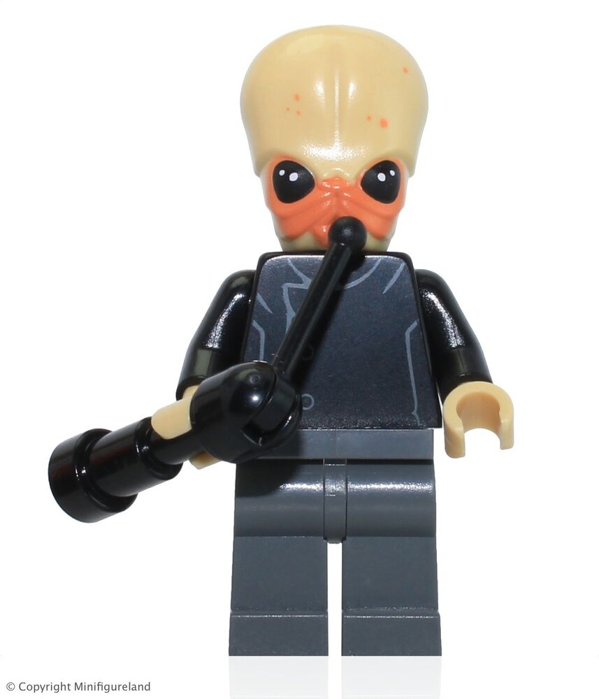 lego star wars minifigure bith musician w instrument set 75052 ebay. Black Bedroom Furniture Sets. Home Design Ideas