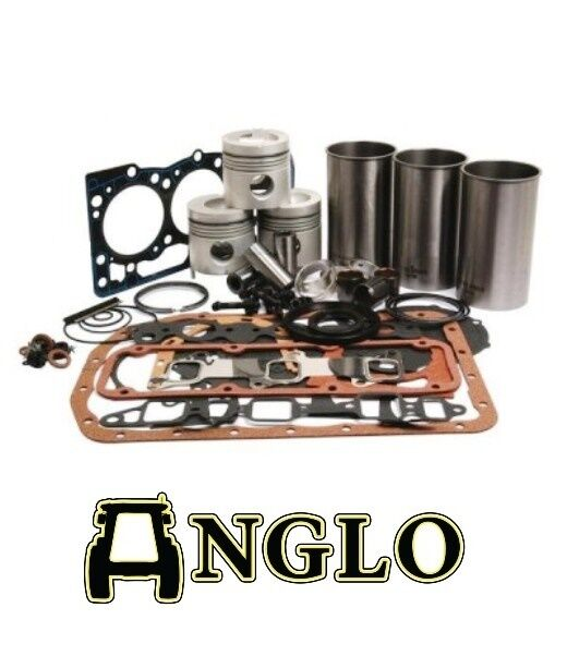 Ford 3000 Tractor Engine Rebuild Kit : Ford tractor engine rebuild kit with liners