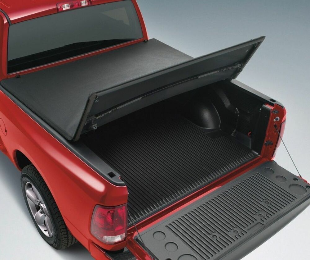 """Dodge Bed Covers: 2003-2017 Dodge Ram 2500 3500 6'4"""" Standard Bed TriFold"""