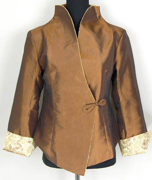 Any Occasion Ladies Silk Jackets Our range of embroidered silk jackets in luxurious materials are an any occasion jacket that is going to flow beautifully to complete your outfit. Wear one of our embroidered Princess Jackets over a simple top or blouse and this silk jacket will finish off your outfit in style.