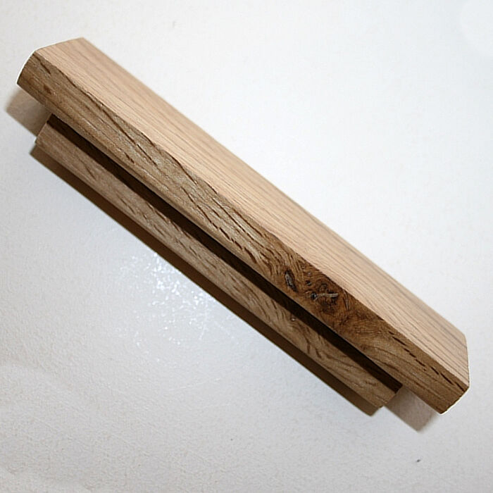 Wooden Furniture Hardware ~ Wooden door handles solid oak bar for kitchen