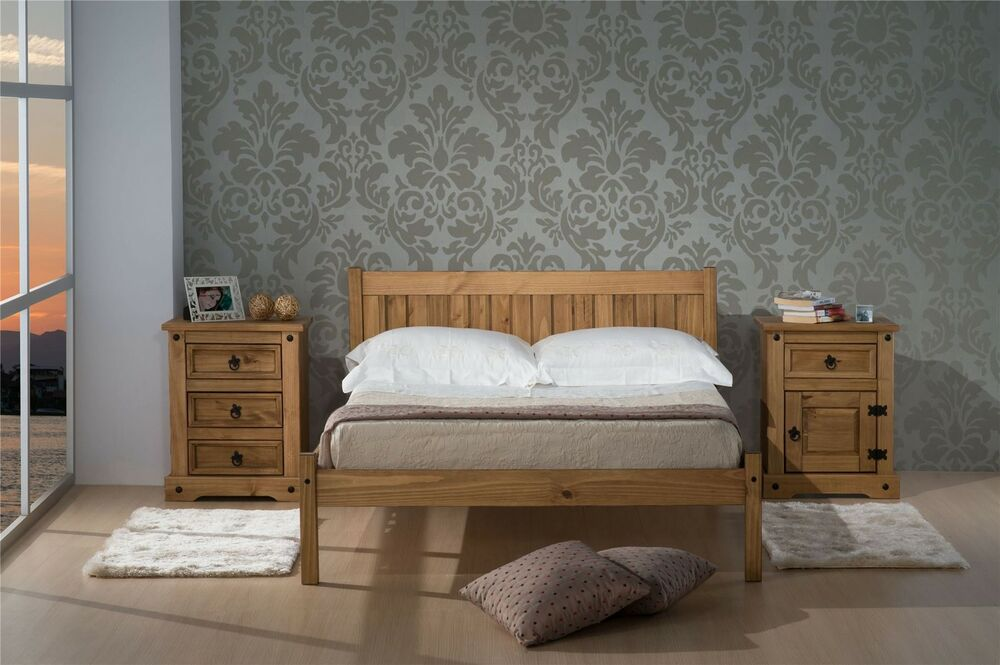 Birlea Rio Corona Mexican Solid Pine Wood 135cm 4ft6