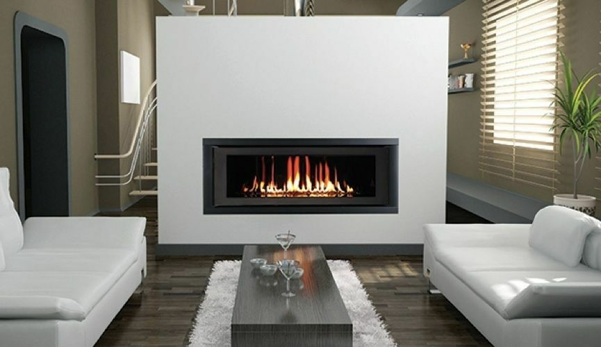 Superior 42 Contemporary Linear Top Vent Direct Vent Fireplace Ebay