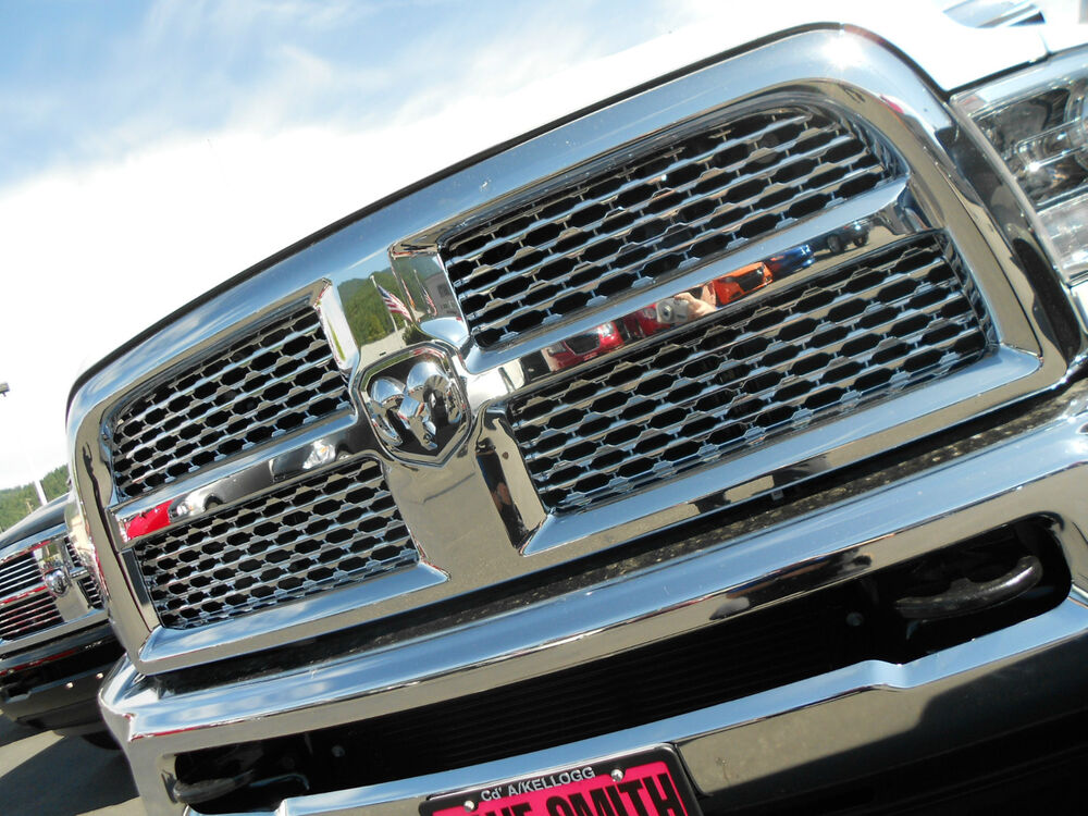 Dodge Ram 2500 Grille Chrome Honeycomb Grille Insert ...