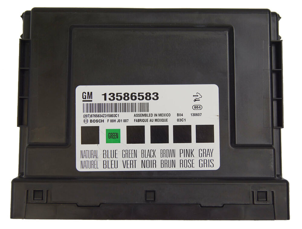 2010   2014       GM    Chevy Buick Cadillac BCM Body Control Module