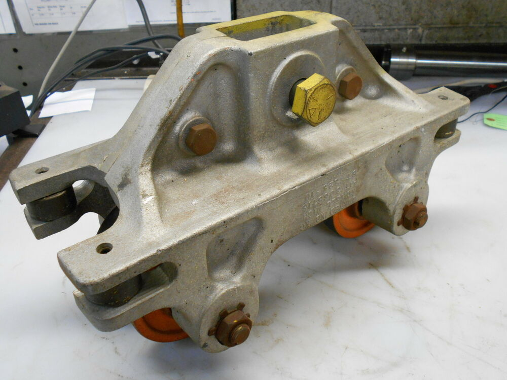 10 Ton Trolley : Unified ind bt ton wheel trolley for