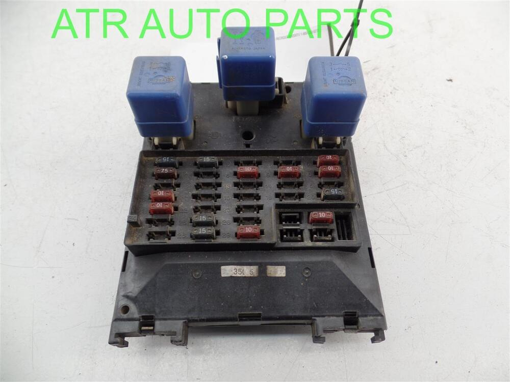 2001 2002 2003 Infiniti Qx4 Dash Fuse Relay Box Multiplex Control Unit