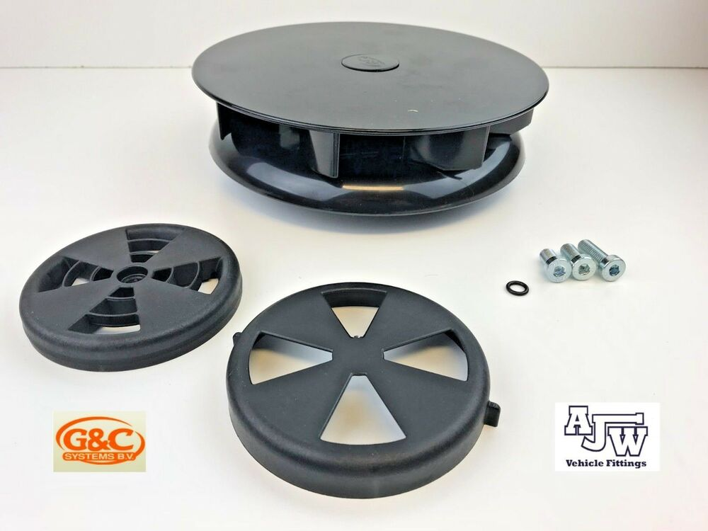 Picture Of Roof Ventilator Turbo : Rotary wind driven roof vent black vans trucks horseboxes