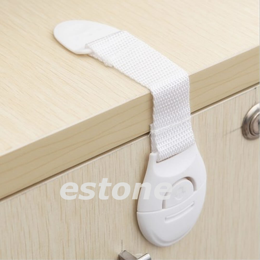 Safety Door Locks : Kids baby child toddler safety door lock fridge drawer