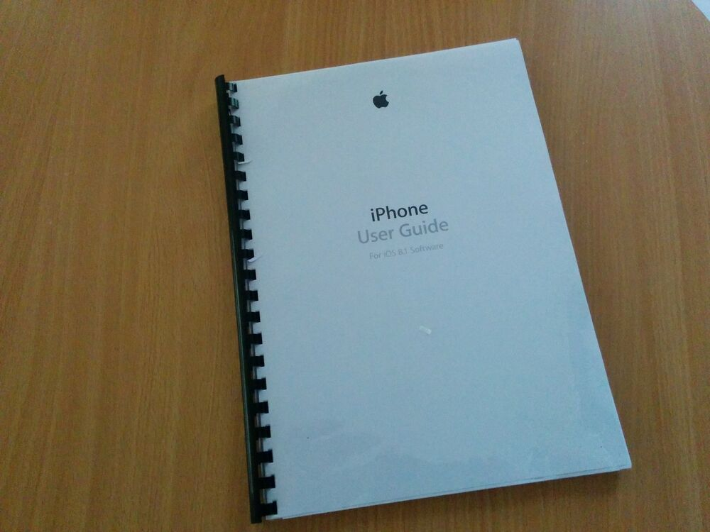 iphone 6 manual printed apple iphone 6 6 plus manual user 11358