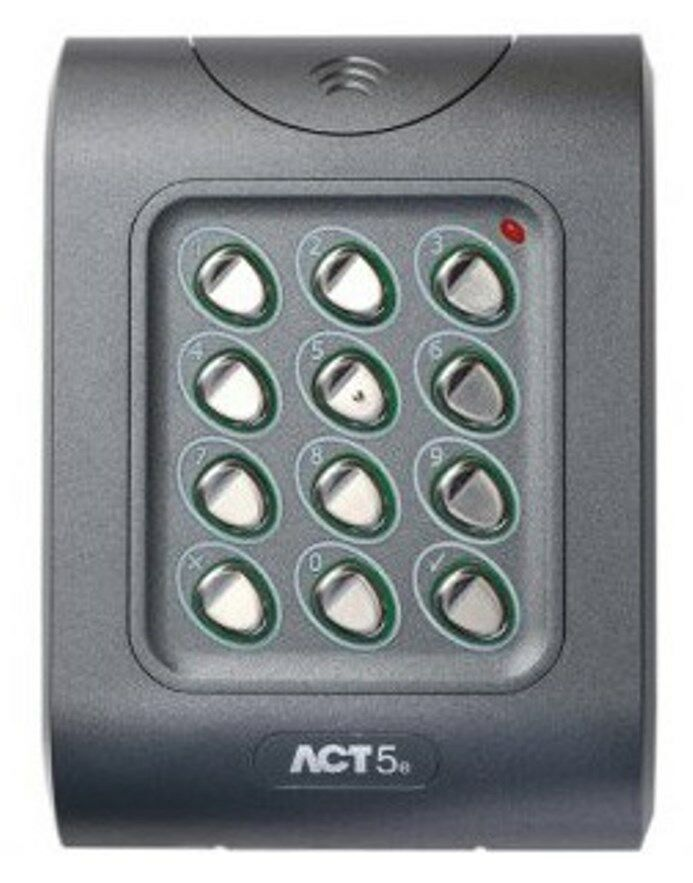 act5 keypad for door entry systems electric locks ebay. Black Bedroom Furniture Sets. Home Design Ideas