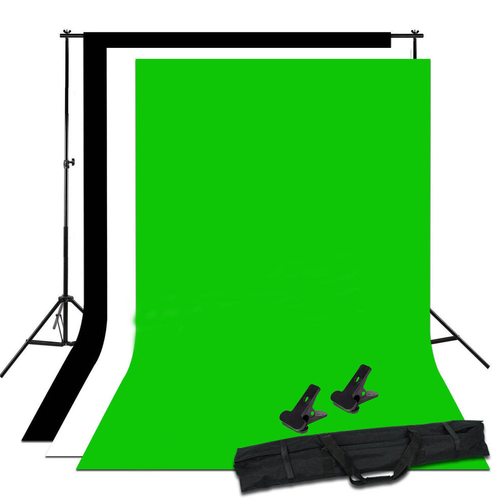 photo studio black white chroma key green background. Black Bedroom Furniture Sets. Home Design Ideas