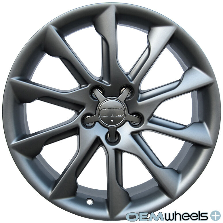 "NEW 18"" MATTE S-LINE STYLE WHEELS FITS AUDI A6 S6 RS6 A7"