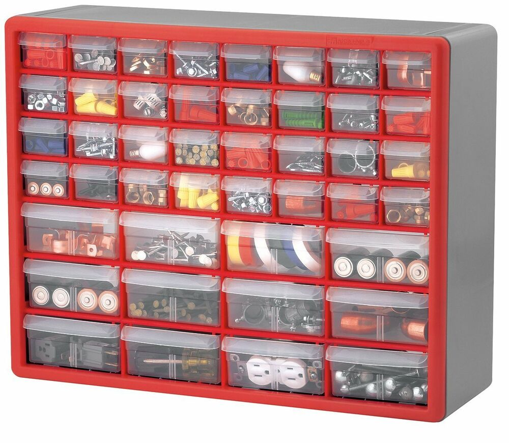 Hardware Storage Containers Plastic Parts Storage Hardware