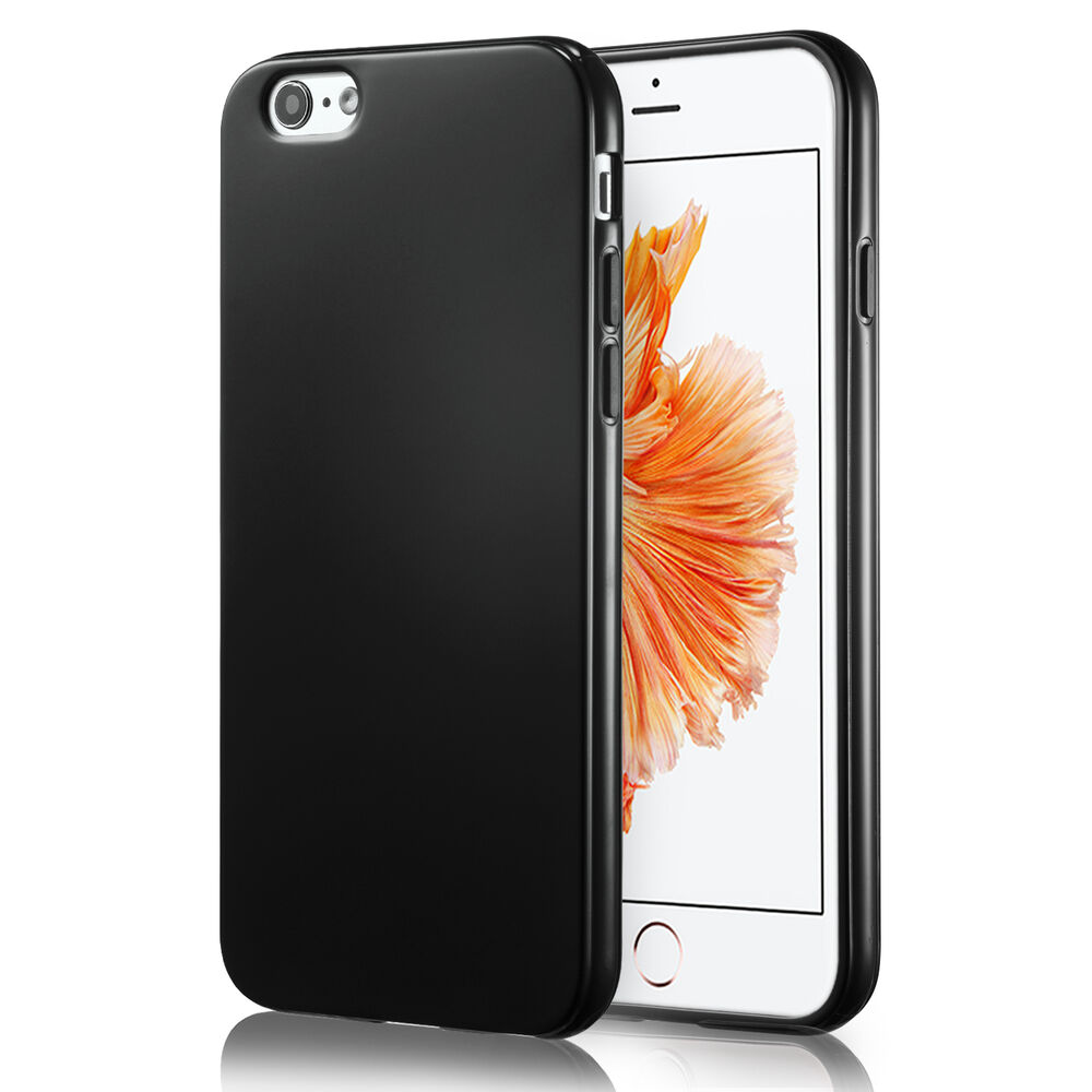 apple iphone case black silicone soft cover bumper rubber skin for 3135