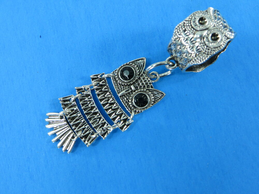Owl Scarf Ring