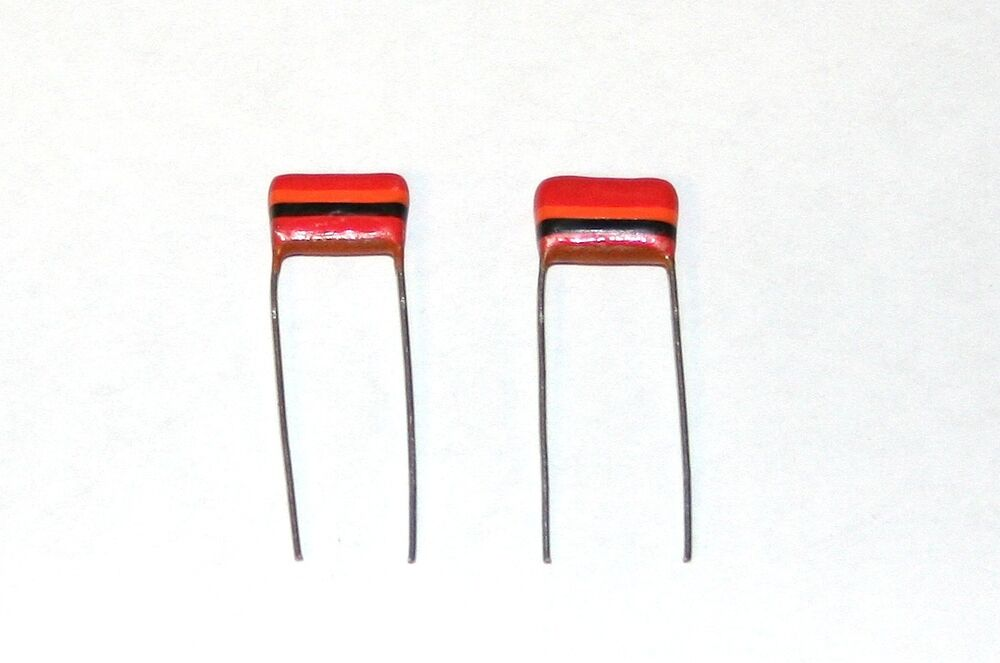 2 tropical fish capacitors  022uf   22nf  0 022uf 250v 20  mullard c280 tone