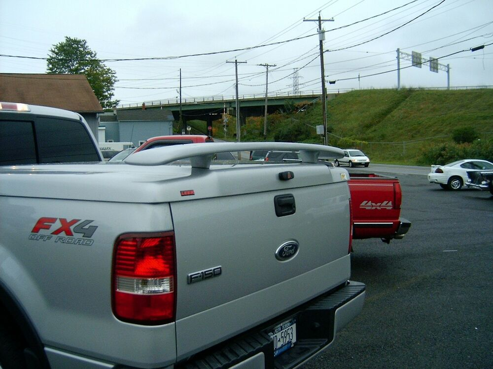 67 Inch Universal Rear Spoiler Painted Truck Tonneau Cover
